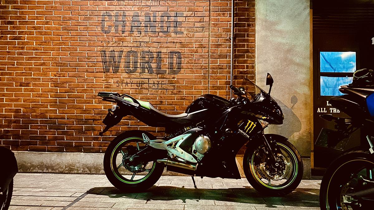 144cm・女・大型バイクに乗る!