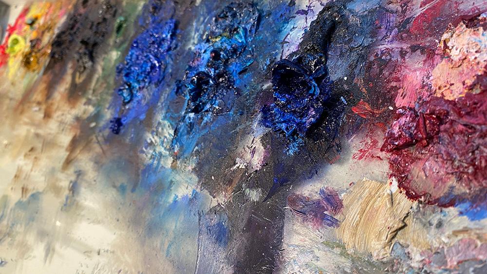 パレットには何色ある? 油絵具の色の名前と種類